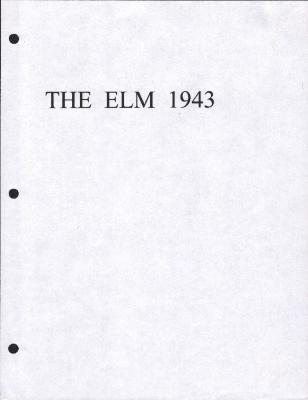 The Elm (1943), Garnett High School yearbook