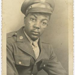 Clarence Hamilton In Uniform