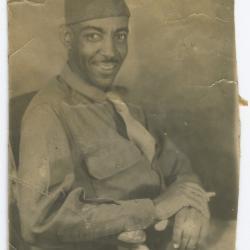 Howard Hamilton in Uniform