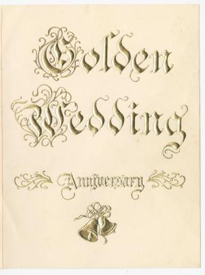 Ringgold 50th Wedding Anniversary invitation