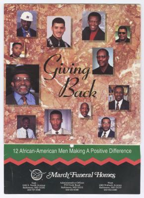 """Giving Back"""