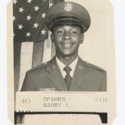 Barry L. Sparks' Navy Portrait