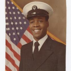 Barry Sparks Naval Portrait