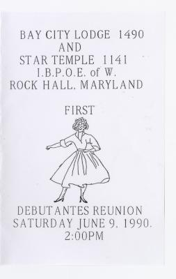 Debutante Reunion, June 9th, 1990