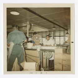 Packing fish at VITA Foods 1969 February