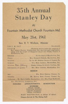 35th Annual Stanley Day