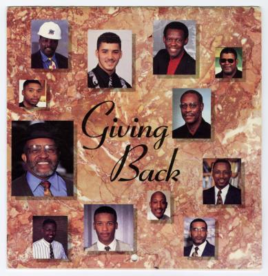 "Sam Ringgold, Jr. recognized on the 1996 Baltimore Calendar of ""Baltimore Black Men Giving Back"""