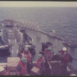 Crew Aboard a Naval Vessel
