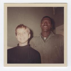 Mark Stevens and Robert Moore