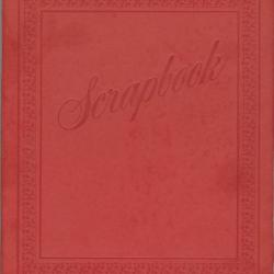 Scrapbook compiled by Sylvia M. Sparks