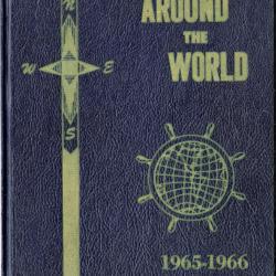 "U.S.S. Opportune 1965-1966 ""Around The World"" Assignment Book"