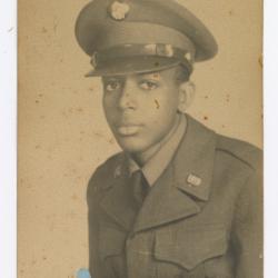 Melvin J. Hamilton in Military Uniform