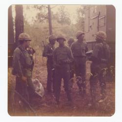 Seven men in the army