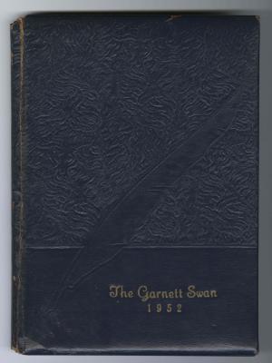The Garnett Swan (1952), Garnett High School yearbook