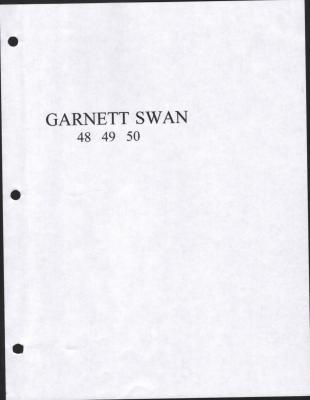 Garnett Swan 48, 49, 50, Garnett High School yearbook