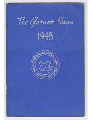 The Garnett Swan (1948), Garnett High School yearbook